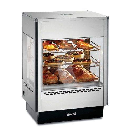 Lincat Seal UMS50D Upright Heated Merchandiser - 565 mm wide